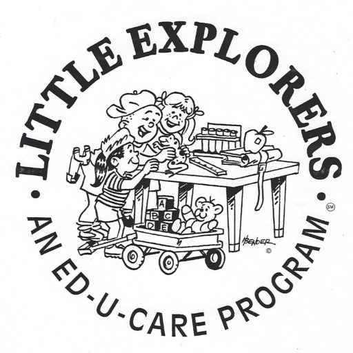 Little Explorers An Ed-U-Care Program Logo